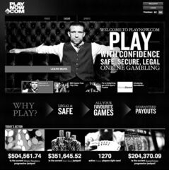 The Manitoba Lotteries Corp. launched its PlayNow.com site in conjunction with the British Columbia Lottery Corp.