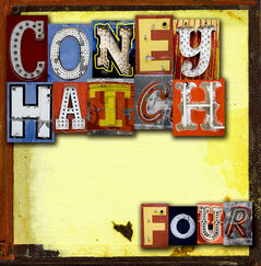 "The cover for the Coney Hatch album ""Four"", which was released last September."