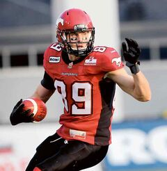 Former Vincent Massey Vikings standout Chris Bauman is savouring his first Grey Cup week as a player. The 28-year-old Brandonite will help the Calgary Stampeders battle the Toronto Argonauts in the CFL championship game on Sunday in Toronto.