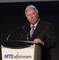 MTS CEO Pierre Blouin says there is plenty of room for the telecom company to grow.