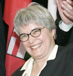Christine Melnick is pictured in 2005. THE CANADIAN PRESS/Marianne Helm
