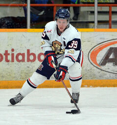 Brandonites Mitch Van Teeling (above) and Brayden Cuthbert are playing key playoff roles for the Dauphin Kings.