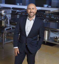 Recipe to Riches host Carlo Rota is pictured. THE CANADIAN PRESS/HO, CBC - Mark O'Neill