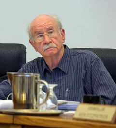 Errol Black, at city council in 2010.
