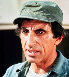 This is an undated photo of actor Jamie Farr in character as