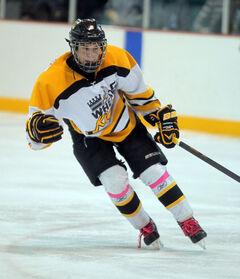 Connor Gutenberg will lead Westman's male hockey team.