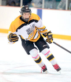 Centre Connor Gutenberg led the Brandon Bantam AAA Wheat Kings in scoring with 20 goals and 40 points in 32 games.