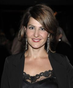 Actress Nia Vardalos arrives at a gala in Los Angeles on Monday, Sept. 27, 2010. Vardalos, the actress and screenwriter behind