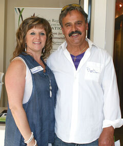 Susan and Paul Spiropoulos.