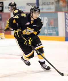 Sixteen-year-old Brandon Wheat King John Quenneville will play in the World Under-17 Hockey Challenge.