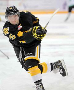 Peter Quenneville is riding a six-game point streak for the Brandon Wheat Kings.