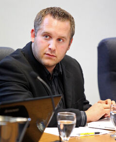 Coun. Stephen Montague (Richmond) hasn't decided if he will run for re-election to city council. The 33-year-old, however, is eyeing a Brandon mayoral run in the future.