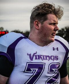 Graham Wright played just one season with the Vincent Massey Vikings, but the defensive tackle earned an invite to the Winnipeg High School Football League Senior Bowl. He will play it with the memory of Norman Lowes close to his heart.