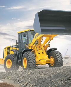 Supplied photo Brandon's Mazergroup is now Manitoba's licensed dealer for Hyundai construction equipment such as wheel loaders.