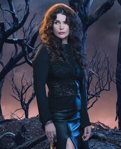 Julia Ormond stars as witch and mother Joanna Beauchamp in '��Witches of East End,'�� which returns for a second season Sunday on Lifetime Canada. THE CANADIAN PRESS/HO-Shaw Media