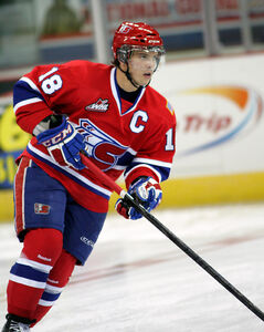 Killarney's Reid Gow of the Spokane Chiefs was one of the WHL's top offensive defencemen.