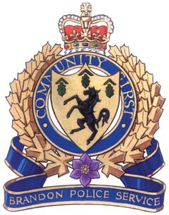 Brandon police have arrested a man accused of several robberies, including one that involved him stabbing a 70-year-old Brandon man in the face and head. That victim is in serious condition in Winnipeg.