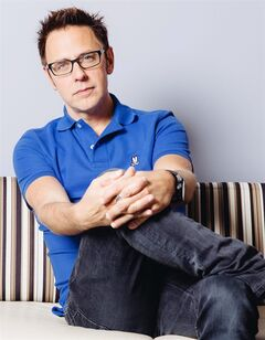 In this Saturday, July 19, 2014 photo, director, James Gunn, poses for a portrait at Disney Studios during press day for