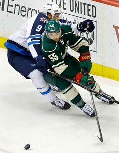 The NHL's Minnesota Wild officially assigned defenceman Mathew Dumba (55) to the WHL's Portland Winterhawks on Tuesday.