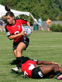Brandon's Amanda Thornborough has played for both national 7s and 15s rugby teams.