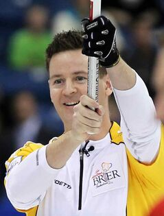 Brandon's Rob Fowler won the provincial men's curling title and then celebrated a bronze medal at the 2012 Brier.