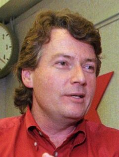 Former war correspondent Arthur Kent is shown in St. Louis, MO., on Feb. 16, 1998. A former television news correspondent known as the Scud Stud says he feels vindicated by the suspension of a prominent lawyer who has admitted she leaked damaging information about him while he was running for a seat in the Alberta legislature. THE CANADIAN PRESS/AP, Mary Butkus