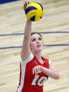 Zoe Pellerin returned to Brandon a as member of the Winnipeg Wesmen Thursday.