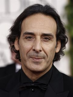 FILE - In this Sunday, Jan. 16, 2011 file photo Alexandre Desplat, nominee for Best Original Score for 'The King's Speech