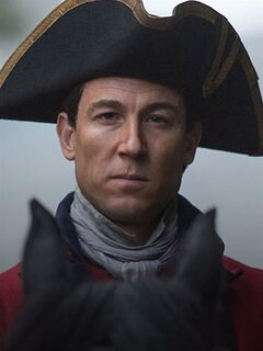 Tobias Menzies is shown in this handout photo from the TV show