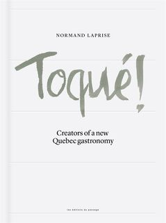 The cover of Normand Laprise's cookbook