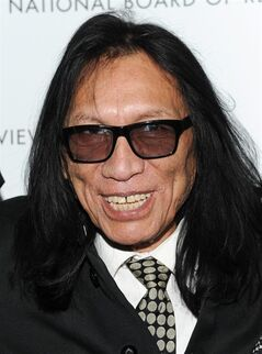 FILE - In this Jan. 8, 2013, file photo, musician Sixto Rodriguez attends the National Board of Review Awards gala at Cipriani 42nd St. on Tuesday Jan. 8, 2013 in New York. Rodriguez, the subject of the Oscar-winning documentary