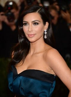 FILE - In this May 5, 2014, file photo, Kim Kardashian attends The Metropolitan Museum of Art's Costume Institute benefit gala celebrating