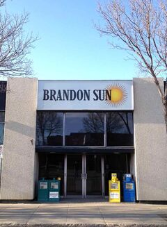 Beginning on Monday, May 6, the Brandon Sun will harmonize its home delivery within the city of Brandon, moving from an afternoon paper to a morning product. Newspapers will be delivered by mid-morning or earlier, depending on the length of the route and barring any extremely poor weather.