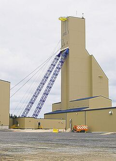 The Lalor Mine near Snow Lake began production Sunday.