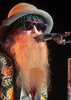 Two beards, two hats and two pair of cheap sunglasses — oh yeah, it was all topped off with some damn fine fretwork from lead guitarist Billy Gibbons (above) and bassist Dusty Hill.