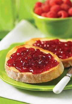 Raspberry and Plum Jam. Plums add delicious flavour to this jam, which has half the seeds of regular raspberry jam. THE CANADIAN PRESS/ho-Robert Rose Inc.