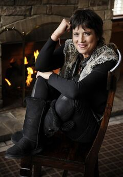 FILE - In this Wed., Jan. 22, 2014 file photo, Eve Ensler, co-director of the short film