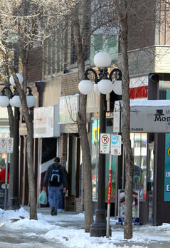 The city has created a new urban and design standards manual to promote high quality urban design and ensure contextually appropriate development in Brandon, including downtown spaces such as this stretch along Rosser Avenue.