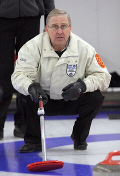 Doug Armour (pictured above) and Joyce McDougall will skip Westman's top-seeded teams at the masters provincials in Winnipeg this week.