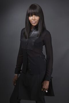 This Jan. 30, 2014 photo shows supermodel Naomi Campbell, executive producer and coach of the model competition series