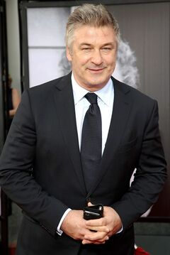 FILE - This April 10, 2014 file photo shows actor Alec Baldwin at the 2014 TCM Classic Film Festival's Opening Night Gala in Los Angeles. Actor Gary Oldman is defending fellow actors Mel Gibson and Alec Baldwin from critics of their comments on Jews and homosexuals, saying people need to take a joke. In an interview with Playboy, Oldman decried