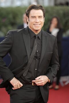 This Sept. 6, 2013 file photo shows actor John Travolta arriving for the screening of