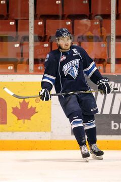 Blades centre Brenden Walker notched nine points last week.