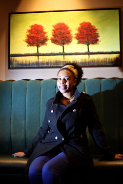 Rahel Mesghinna has worked in the service industry for much of her life. She's a first-generation Canadian, born and raised in Regina to parents who come from the small country of Eritrea, which is just north of Ethiopia. While her folks lived in Italy for a few years, they felt better opportunities existed for them in Canada. Mesghinna came to Brandon in 2007 to attend Brandon University and has been working as a server at The Keg for almost two years.