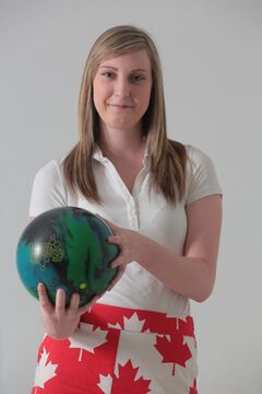 Champion bowler Stephanie Adams will be bowling for Team Canada.