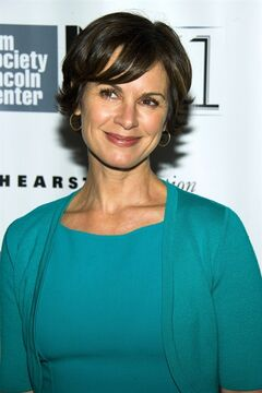 FILE - This Oct. 8, 2013 file photo shows ABC News anchor Elizabeth Vargas at the New York Film Festival premiere of