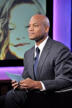 In this Sept. 28, 2013 photo provided by WNET, Wes Moore returns to host
