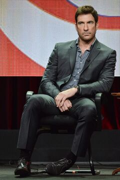Dylan McDermott appears on stage during the