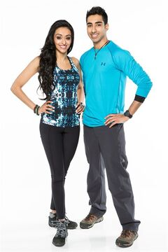 Amazing Race Canada sibling duo Sukhi (left) and Jinder Atwal are pictured. THE CANADIAN PRESS/HO