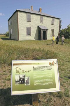 The Big House at the Criddle / Vane Homestead Provincial Park.